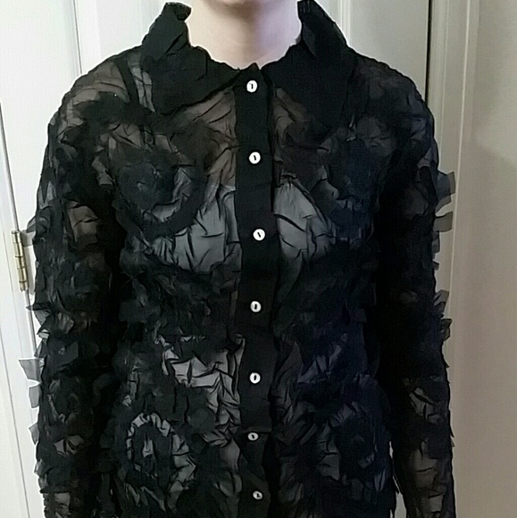 6fc1732195c99 Stein Mart Tops | Black Long Sleeve | Poshmark